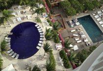 Gartenanlage mit 2 Pools