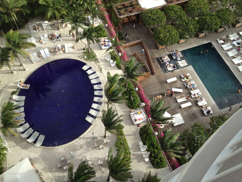 Einzigartiger luxus the modern honolulu hotel - Gartenanlage mit pool ...
