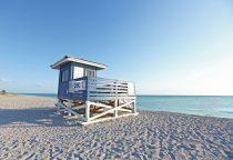 die ruhigen Strände von Venice, Florida