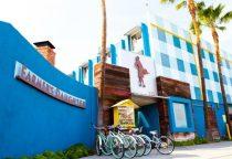 Farmers Daughter Hotel mit seinen Fahrrädern für Gäste