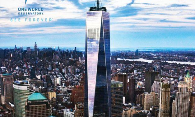 Wo New York zu Füßen liegt: One World Observatory