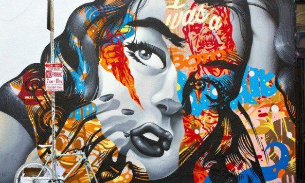 Kreative Straßenmalerei in Los Angeles
