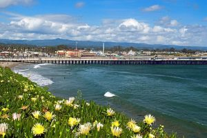 Blick auf den Surfer Hotspot Steamer Lane_C_Visit Santa Cruz