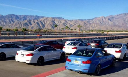 Fahrtraining in der BMW Performance Driving School bei Palm Springs