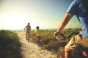 radfahren, fort myers beach