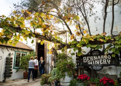 das Bernardo Weingut in der Nähe San Diegos