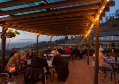 Cordiano Weingut - Weinverkostung mit grandioser Aussicht