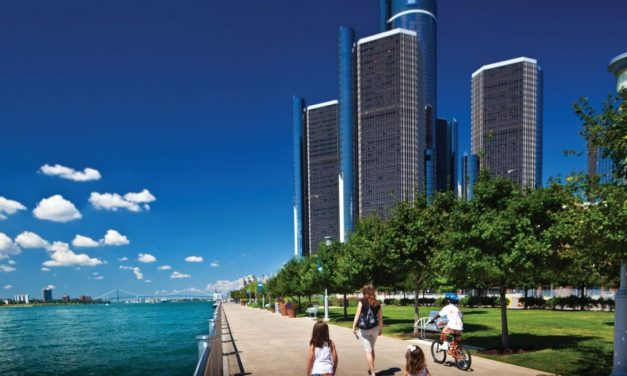 "Via Detroit an die Großen Seen – ""Motor City"" war Gestern"