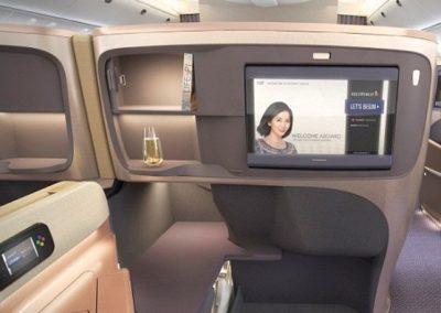 Business Class - bequeme Sitze für ein Maximum an Komfort