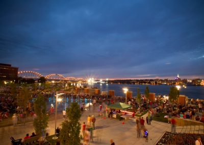 Quad Cities Riverfront - photo credit: Quad Cities CVB