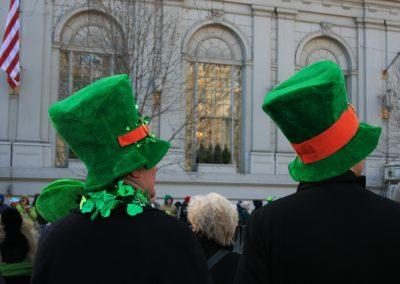 St. Patrick's Day im März
