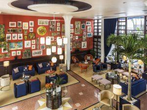 3-Sterne-Hotel in Miami Beach - Lobby im Albion Hotel