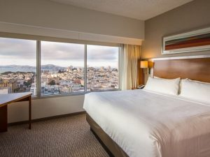 3-Sterne-Hotel in San Francisco - Grand View Zimmer im Holiday Inn Golden Gateway
