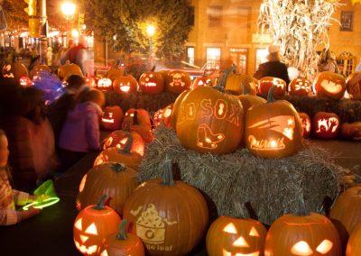 Halloween in Neuengland