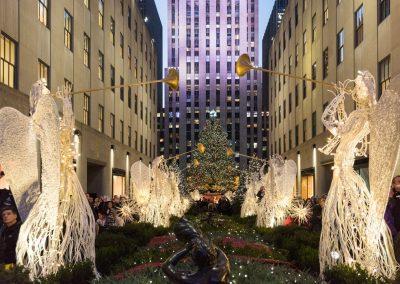 Weihnachtszeit in New York am Rockefeller Center - credit Julienne Schaer, NYC & Company