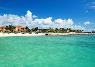 Hotelstrand des Ocean Maya Royale