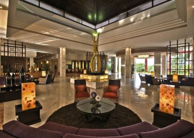 Lobby des Ocean Maya Royale