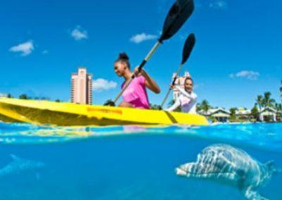 Möglichkeiten zum Kayaking