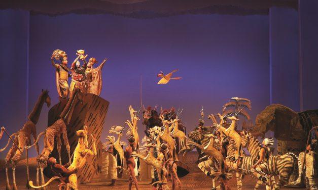 """Disney's Musical """"König der Löwen"""" am Broadway sehen, fühlen und lieben"""