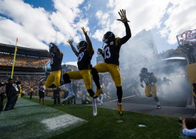Pittsburgh Steelers - photo credit Dave DiCello