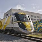 Bahnfahren in Florida mit Brightline