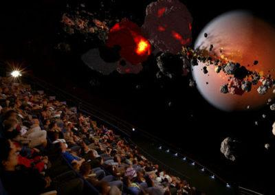 Vorführung im Planetarium: Gesteinsbrocken im Weltall (engl.: Rocks in Space)