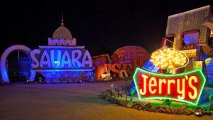 Neon Museum Las Vegas, photo credit Visit Nevada