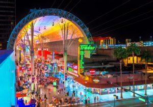 fremont street, las vegas, photo credit Visit Las Vegas