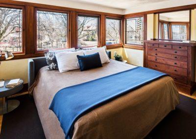 Schlafzimmer auf der Nordwest-Seite