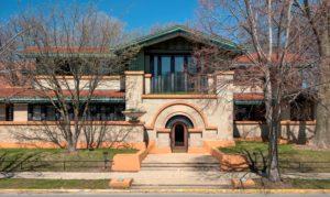 Frank Llyod Wright, Dana Thomas Haus, Springfield, Illinois