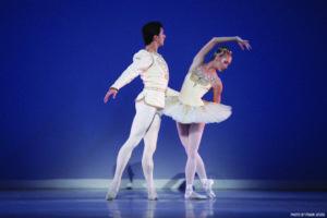 Danielle Brown & Ricardo Graziano in George Balanchine's Diamonds_Credit Frank Atura