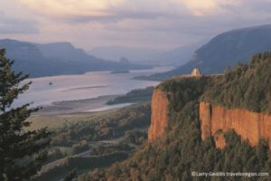 Crown Point Columbia River Gorge