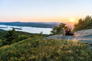 View of Lake George from Buck Mountain, Adirondack Region (Photo- Darren McGee-NYSDED)
