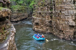 Ausable Chasm, Keeseville, NY- Clinton County , Adirondacks Region