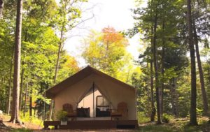 Glamping, new york state