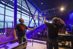 Live Vorführung im Corning Museum of Glass