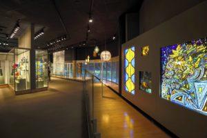 Ausstellungs im Corning Museum of Glass