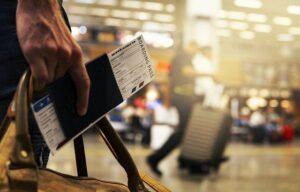 Flugreise in die USA